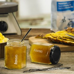Ananas-Vanille-Konfitüre