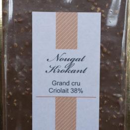 Grand cru Criolait 38% Nougat Krokant