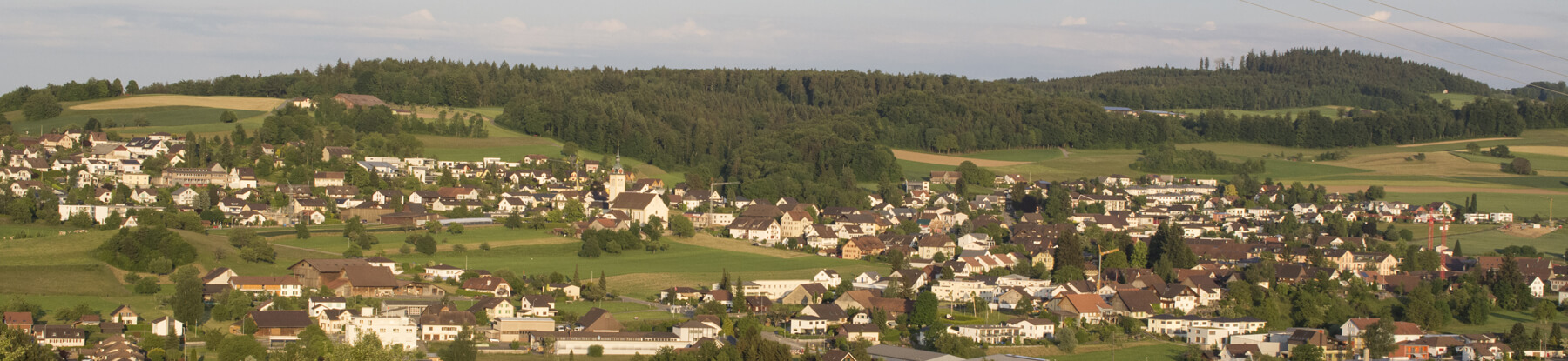 Panoramablick auf Sarmenstorf