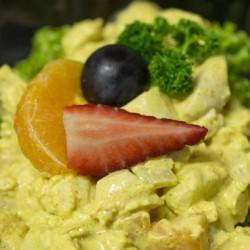 Poulet-Curry-Salat