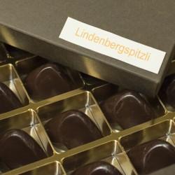 Pralinenschachtel mit Lindenbergspitzli