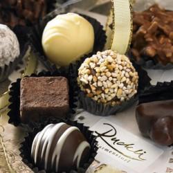 8 verschiedene hausgemachte Schokolade-Truffes