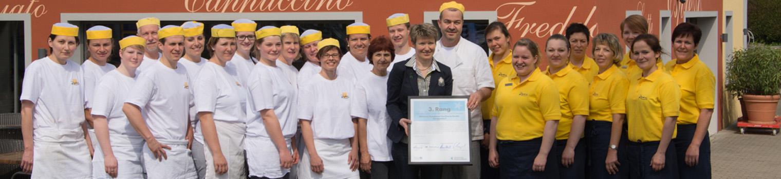 Team der Bäckerei Ruckli