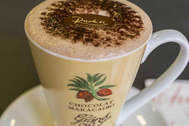 Tasse mit heisser Schokolade