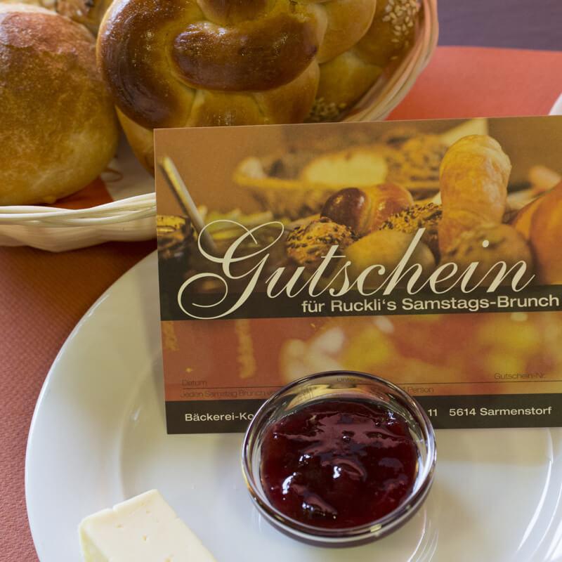 445b774a24 Brunch-Gutschein - Bäckerei Ruckli