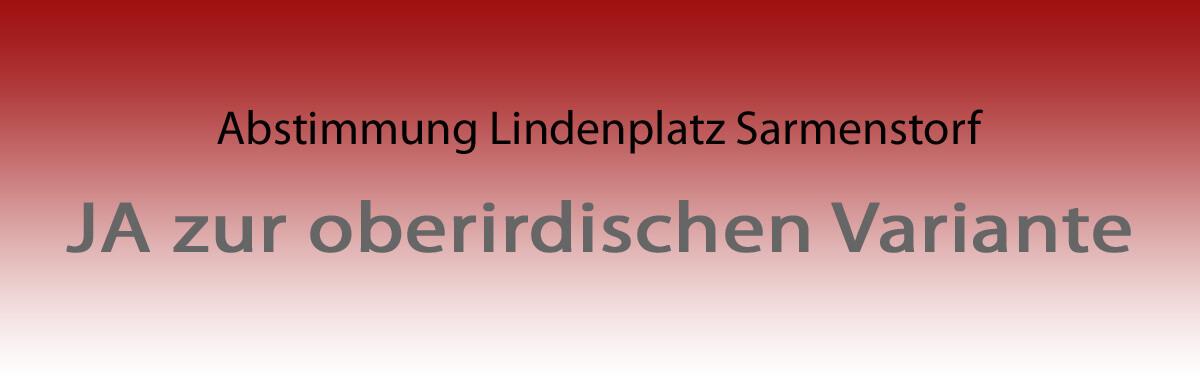 Abstimmung Lindenplatz