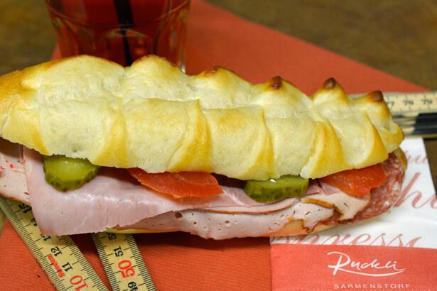 Handwerker-Sandwich
