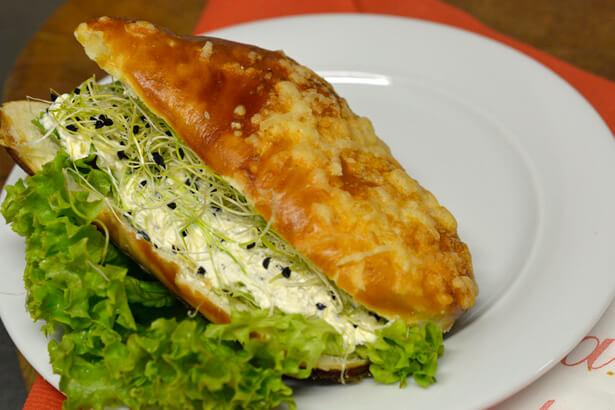 Käsefuss Sandwich