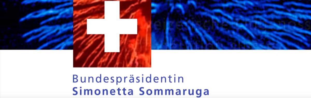 Neujahrsansprache Sommaruga